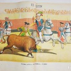 Coleccionismo de Revistas y Periódicos: EL MOTÍN - PERIÓDICO SATÍRICO SEMANAL. Nº 21 - 27 MAYO 1883. Lote 270647963