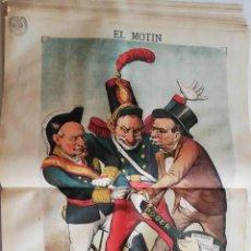 Coleccionismo de Revistas y Periódicos: EL MOTÍN - PERIÓDICO SATÍRICO SEMANAL. Nº 27 - 8 JULIO 1883. Lote 270648408