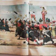 Coleccionismo de Revistas y Periódicos: EL MOTÍN - PERIÓDICO SATÍRICO SEMANAL. Nº 29 - 22 JULIO 1883. Lote 270648548