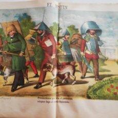 Coleccionismo de Revistas y Periódicos: EL MOTÍN - PERIÓDICO SATÍRICO SEMANAL. Nº 32 - 19 AGOSTO 1883. Lote 270648773