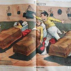 Coleccionismo de Revistas y Periódicos: EL MOTÍN - PERIÓDICO SATÍRICO SEMANAL. Nº 33 - 26 AGOSTO 1883. Lote 270648833