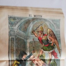 Coleccionismo de Revistas y Periódicos: EL MOTÍN - PERIÓDICO SATÍRICO SEMANAL. Nº 31 - 5 AGOSTO 1883. Lote 270649198