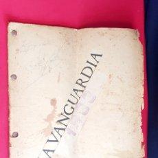 Coleccionismo de Revistas y Periódicos: LA VANGUARDIA ANTIGUA AÑOS 1933 .HAY 73 PAGINA VER FOTOS. Lote 270697038