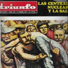 Coleccionismo de Revistas y Periódicos: REVISTA TRIUNFO 1974, Nº 590, FOTO ORIGINAL. Lote 270907518