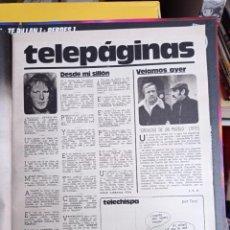 Coleccionismo de Revistas y Periódicos: DENNIS WATERMAN CRONICAS DE UN PUEBLO. Lote 270907863