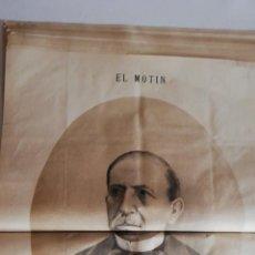 Coleccionismo de Revistas y Periódicos: EL MOTÍN - PERIÓDICO SATÍRICO SEMANAL. Nº 44 , 11 NOVIEMBRE 1883. Lote 270972883