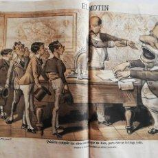 Coleccionismo de Revistas y Periódicos: EL MOTÍN - PERIÓDICO SATÍRICO SEMANAL. Nº 44 SUP , 15 NOVIEMBRE 1883. Lote 270973663