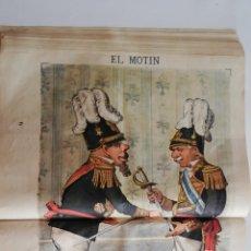 Coleccionismo de Revistas y Periódicos: EL MOTÍN - PERIÓDICO SATÍRICO SEMANAL. Nº 45, 18 NOVIEMBRE 1883. Lote 270973738