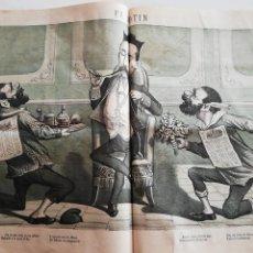 Coleccionismo de Revistas y Periódicos: EL MOTÍN - PERIÓDICO SATÍRICO SEMANAL. Nº 45 SUPLEMENTO, 22 NOVIEMBRE 1883. Lote 270973848
