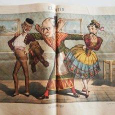 Coleccionismo de Revistas y Periódicos: EL MOTÍN - PERIÓDICO SATÍRICO SEMANAL. Nº 47 , 2 DICIEMBRE 1883. Lote 270974038