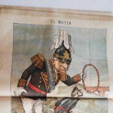 Coleccionismo de Revistas y Periódicos: EL MOTÍN - PERIÓDICO SATÍRICO SEMANAL. Nº 48 SUPLEMENTO , 9 DICIEMBRE 1883. Lote 270974183