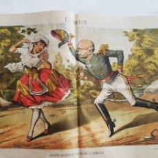 Coleccionismo de Revistas y Periódicos: EL MOTÍN - PERIÓDICO SATÍRICO SEMANAL. Nº 49 , 16 DICIEMBRE 1883. Lote 270974388