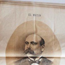 Coleccionismo de Revistas y Periódicos: EL MOTÍN - PERIÓDICO SATÍRICO SEMANAL. Nº 50 , 23 DICIEMBRE 1883. Lote 270974523