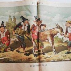 Coleccionismo de Revistas y Periódicos: EL MOTÍN - PERIÓDICO SATÍRICO SEMANAL. Nº 51 , 30 DICIEMBRE 1883. Lote 270974718