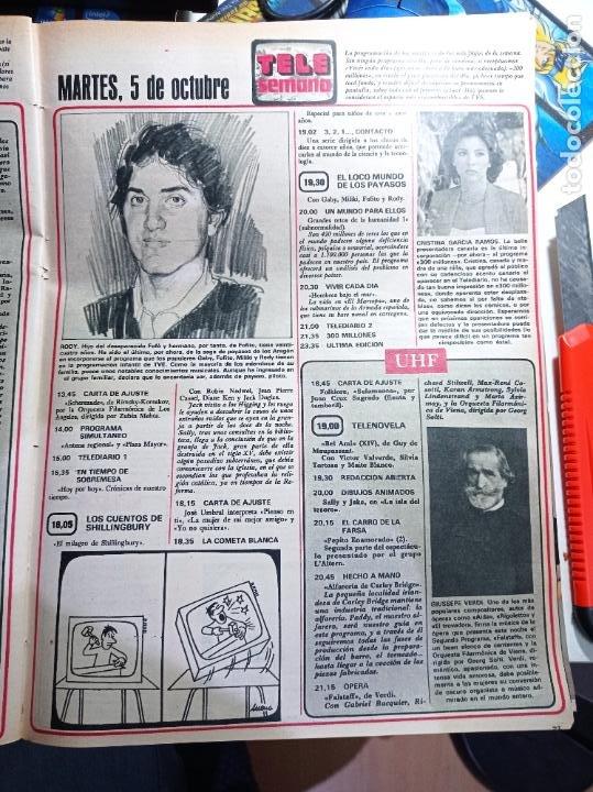 RODY ARAGON LOS PAYASOS DE LA TELE (Coleccionismo - Revistas y Periódicos Modernos (a partir de 1.940) - Otros)