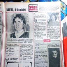 Coleccionismo de Revistas y Periódicos: RODY ARAGON LOS PAYASOS DE LA TELE. Lote 271123968