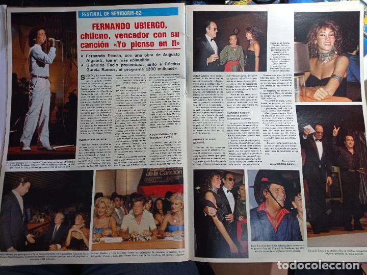 FERNANDO UBIERGO FESTIVAL DE BENIDORM (Coleccionismo - Revistas y Periódicos Modernos (a partir de 1.940) - Otros)