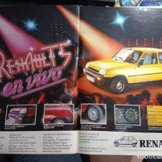 Coleccionismo de Revistas y Periódicos: ANUNCIO RENAULT 5. Lote 271124318