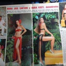 Coleccionismo de Revistas y Periódicos: MARIA JOSE CANTUDO MARIA KOSTI KOSTY. Lote 271124588