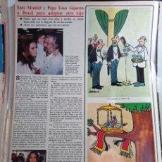 Coleccionismo de Revistas y Periódicos: SARA MONTIEL. Lote 271124793