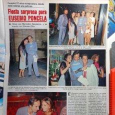 Coleccionismo de Revistas y Periódicos: EUSEBIO PONCELA. Lote 271124843