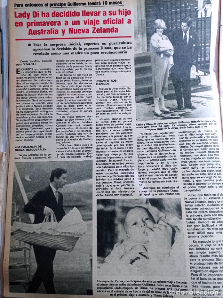 LADY DI DIANA DE GALES A AUSTRALIA Y NUEVA ZELANDA (Coleccionismo - Revistas y Periódicos Modernos (a partir de 1.940) - Otros)