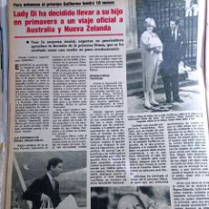 Coleccionismo de Revistas y Periódicos: LADY DI DIANA DE GALES A AUSTRALIA Y NUEVA ZELANDA. Lote 271125068