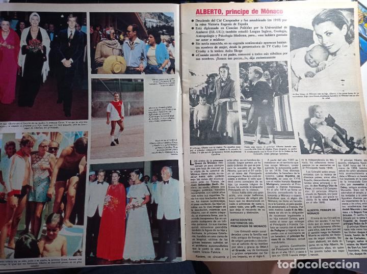 Coleccionismo de Revistas y Periódicos: alberto de monaco grace kelly carolina estefania - Foto 2 - 271125288