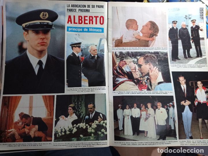 ALBERTO DE MONACO GRACE KELLY CAROLINA ESTEFANIA (Coleccionismo - Revistas y Periódicos Modernos (a partir de 1.940) - Otros)