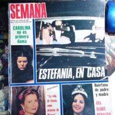 Coleccionismo de Revistas y Periódicos: PORTADA DE ISABEL HERRERO MISS ESPAÑA 82 GRACE KELLY CAROLINA DE MONACO. Lote 271125623