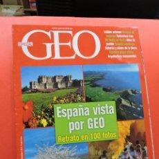 Collezionismo di Riviste e Giornali: ESPECIAL GEO REVISTA. ESPAÑA VISTA POR GEO. RETRATO EN 100 FOTOS. Lote 271840273