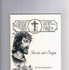 Coleccionismo de Revistas y Periódicos: BOLETÍN INFORMATIVO 2020 HERMANDAD JESUS SIN SOGA ECIJA. Lote 272636808