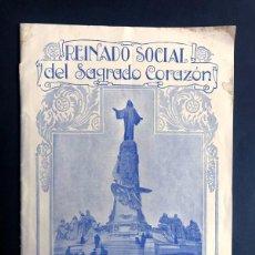Coleccionismo de Revistas y Periódicos: REINADO SOCIAL DEL SAGRADO CORAZÓN ( AÑO 1929 ) ESPECIAL DE LAS MISIONES / PADRE DAMIÁN. Lote 272677928
