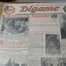 Collezionismo di Riviste e Giornali: REVISTA DIGAME N° 566 AÑO 1950.ARGANDA DEL REY , EL POZO HUELE A PETRÓLEO- EL CIPOTEGATO DE TARAZONA. Lote 272869788