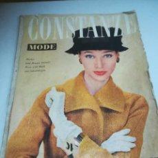 Coleccionismo de Revistas y Periódicos: REVISTA CONSTANZA MODE. 1956/1957. HERBST UND WINTER. Nº 26VER FOTOS. Lote 272888983