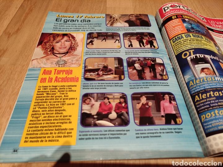Coleccionismo de Revistas y Periódicos: Revista oficial de operación triunfo 2 VEGA Ana Torroja Manuel Carrasco Beth Chenoa Eurovisión OT - Foto 3 - 273540673