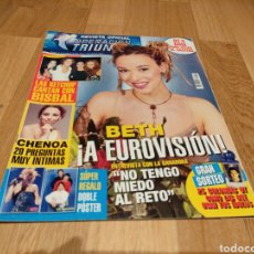 Coleccionismo de Revistas y Periódicos: REVISTA OFICIAL DE OPERACIÓN TRIUNFO 2 VEGA ANA TORROJA MANUEL CARRASCO BETH CHENOA EUROVISIÓN OT. Lote 273540673