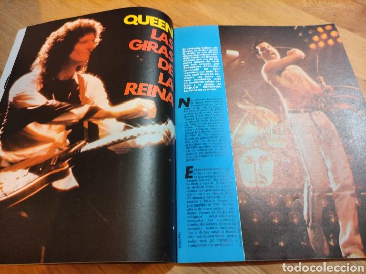 Coleccionismo de Revistas y Periódicos: Revista rock de lux 1982 VAN HALEN póster Queen Depeche Mode Nacho Cano Mecano - Foto 2 - 273547578