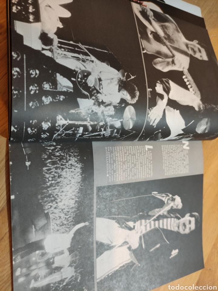 Coleccionismo de Revistas y Periódicos: Revista rock de lux 1982 VAN HALEN póster Queen Depeche Mode Nacho Cano Mecano - Foto 3 - 273547578