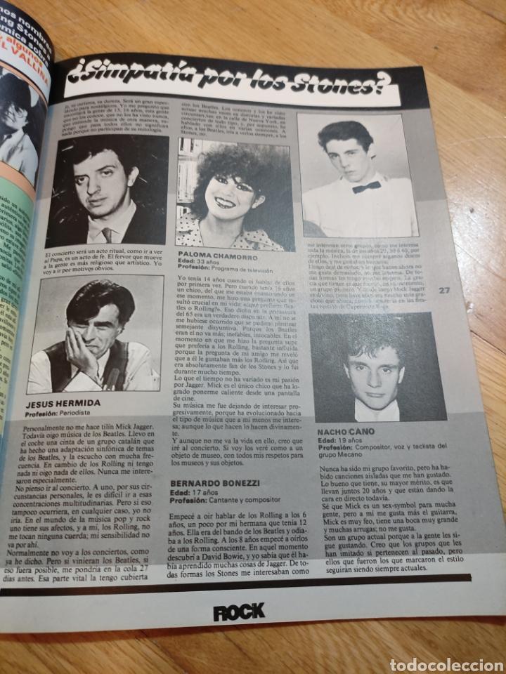 Coleccionismo de Revistas y Periódicos: Revista rock de lux 1982 VAN HALEN póster Queen Depeche Mode Nacho Cano Mecano - Foto 4 - 273547578