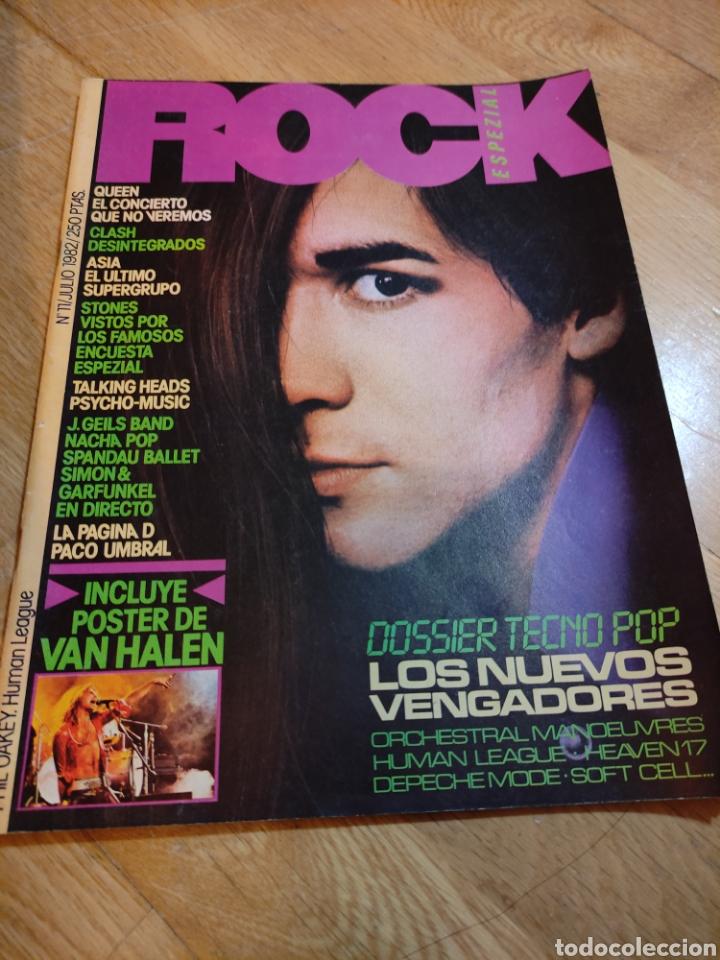 REVISTA ROCK DE LUX 1982 VAN HALEN PÓSTER QUEEN DEPECHE MODE NACHO CANO MECANO (Coleccionismo - Revistas y Periódicos Modernos (a partir de 1.940) - Otros)