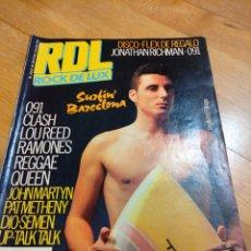 Coleccionismo de Revistas y Periódicos: ROCK DE LUX REVISTA 1986 LOQUILLO QUEEN LOUD REED LOS RAMONES. Lote 273548383