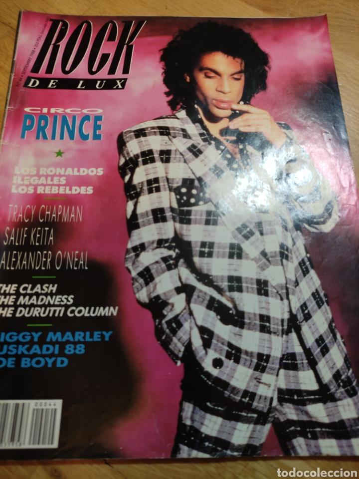ROCK DE LUX 1988 PRINCE LOS REBELDES TRACY CHAPMAN (Coleccionismo - Revistas y Periódicos Modernos (a partir de 1.940) - Otros)