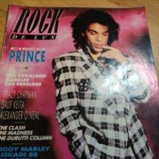 Coleccionismo de Revistas y Periódicos: ROCK DE LUX 1988 PRINCE LOS REBELDES TRACY CHAPMAN. Lote 273548563