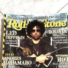 Coleccionismo de Revistas y Periódicos: ROLLING STONE ANDRES CALAMARO ED. 2000. Lote 273851243