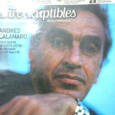 Coleccionismo de Revistas y Periódicos: LOS INROCKUPTIBLES 2004 ANDRES CALAMARO CAETANO VELOSO ED. 2004. Lote 273854038