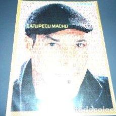 Coleccionismo de Revistas y Periódicos: LA MANO 44 CATUPECU MACHU CHARLY GARCIA ANDRES CALAMARO ED. 2007. Lote 273866708