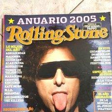 Coleccionismo de Revistas y Periódicos: ROLLING STONE ANDRES CALAMARO ANUARIO 2005 ED. 1999. Lote 273876528