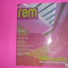 Coleccionismo de Revistas y Periódicos: REM, REAL ESTATE MAGAZINE, Nª 42, FEBRERO ABRIL 2009, TAPA BLANDA. Lote 273967893