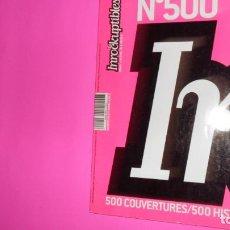 Coleccionismo de Revistas y Periódicos: INROCKUPTIBLES, NUMÉRO EXCEPTIONNEL, 500, 500 COUVERTURES/500 HISTORIES, EN FRANCÉS, TAPA BLANDA. Lote 273968433